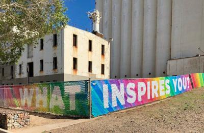 What Inspires You? Fence art in Tempe